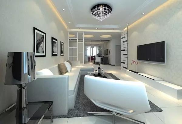 黑白灰三色经典搭配 打造后现代简约风格装修
