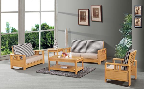 实木沙发搭配技巧