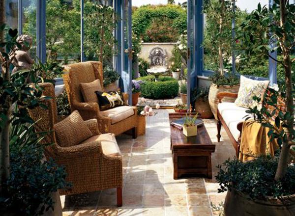 花园阳光房装修案例 打造属于你的冬日花园