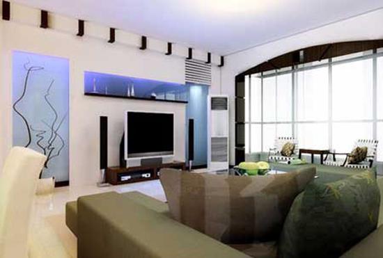 电视背景墙装修效果图五图片