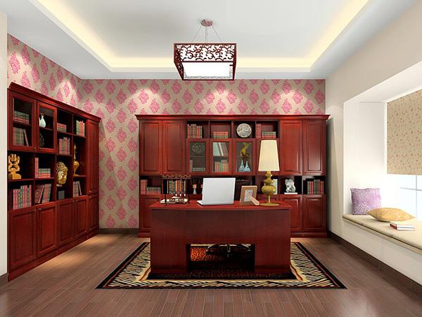 10款现代简欧风格书房装修效果图