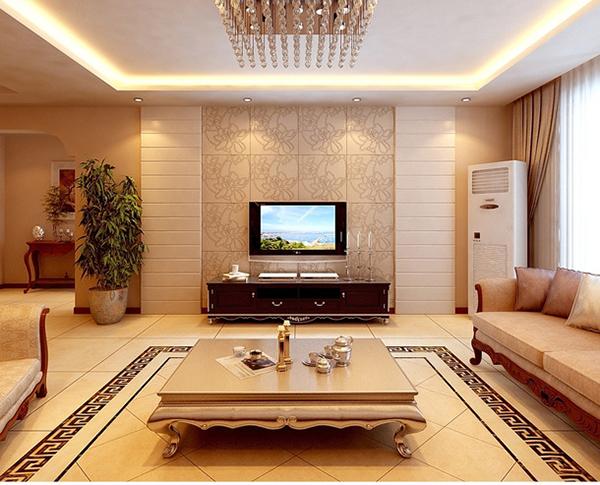 装修攻略  房屋装修 客厅装修 12款现代简约风格大户型客厅装修效果图