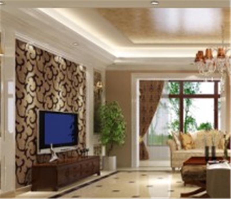 中天官河锦庭260平米排屋欧式装修设计案例效果图