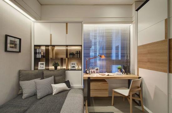 零居室设计让40平米的小户型也可拥有大空间