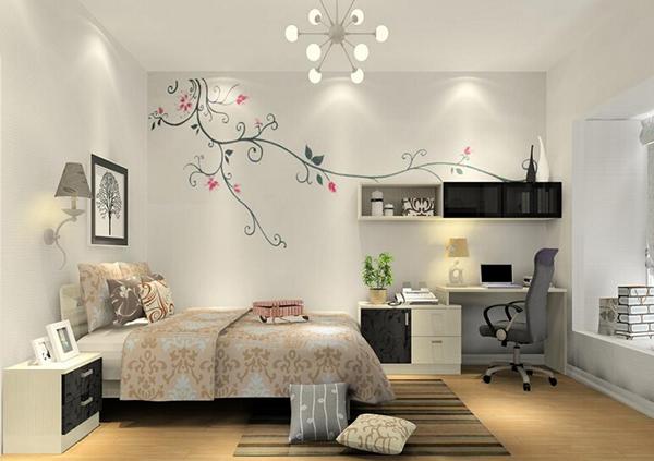 首页 装修攻略  装修风格 北欧风格 五款米兰剪影风格卧室设计效果图图片