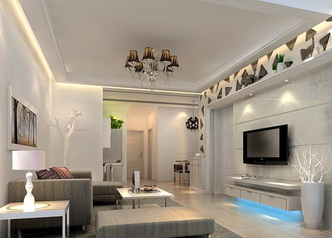 首页 房屋装修 客厅装修 8款浅色调客厅装修效果图,营造素色温暖小