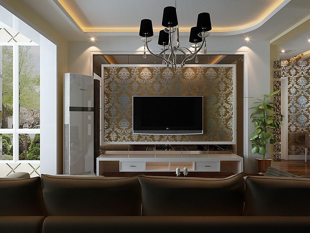 电视墙装修效果图大全之玻璃背景墙介绍