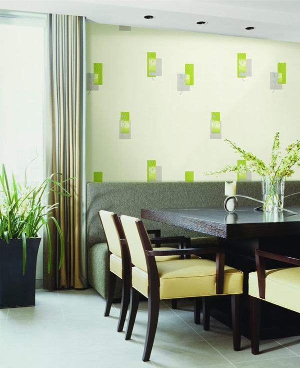 北欧风格墙纸装修效果图