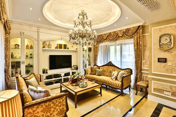 超喜欢这样的豪华别墅,欧式别墅装修案例