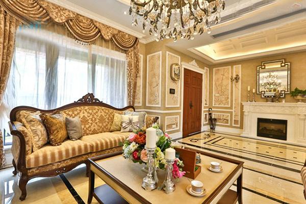 超喜欢这样的豪华别墅,欧式别墅装修案例图片