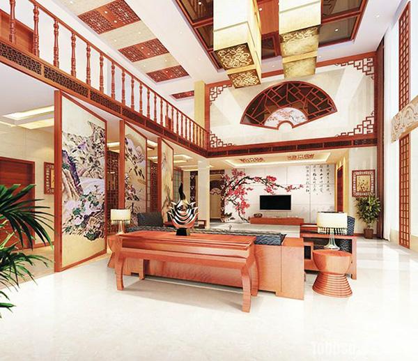 装修攻略 房屋装修 客厅装修 复古风格家居客厅装修案例鉴赏    欧式