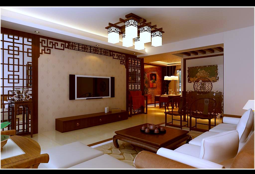 上东城-中式风格-三居室