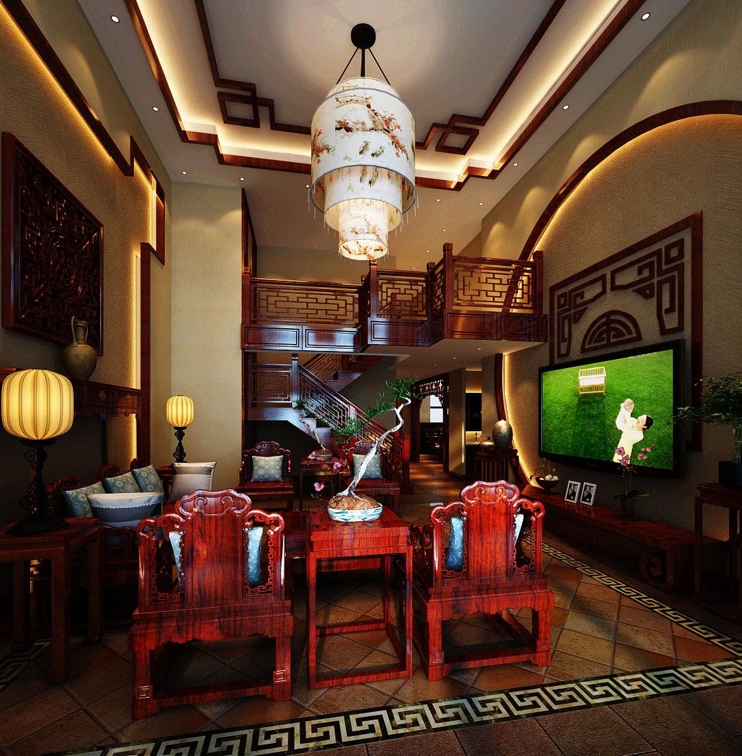 普罗旺世别墅-中式风格-别墅