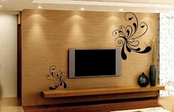 墙衣电视背景墙 墙衣电视背景墙装修效果图
