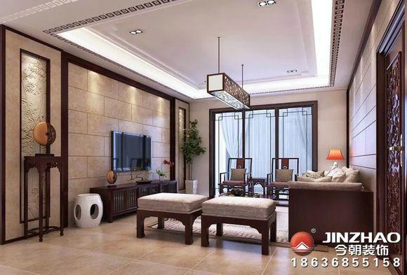 昌盛双喜城103-新中式风格