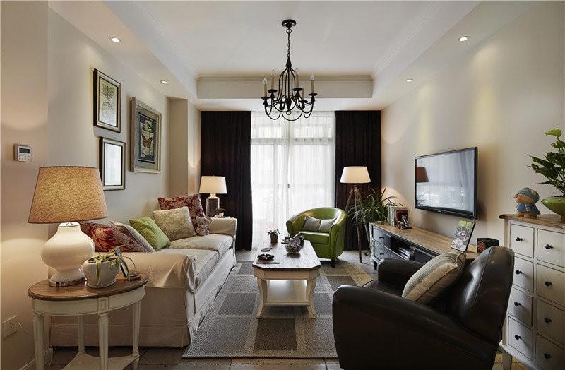 【海赋江城天韵】3室2厅80平米美式风格