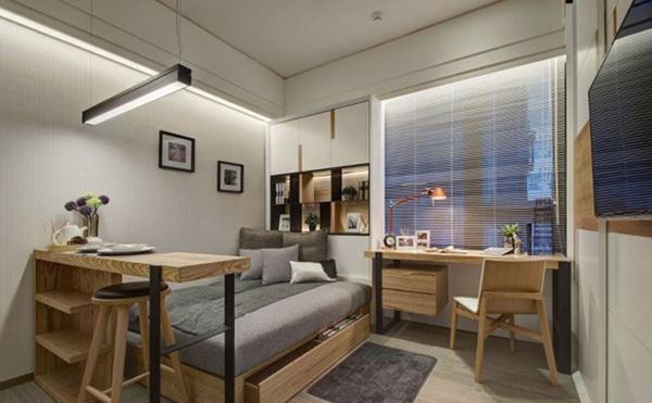 第三招:悬空卧室,立体分割空间图片