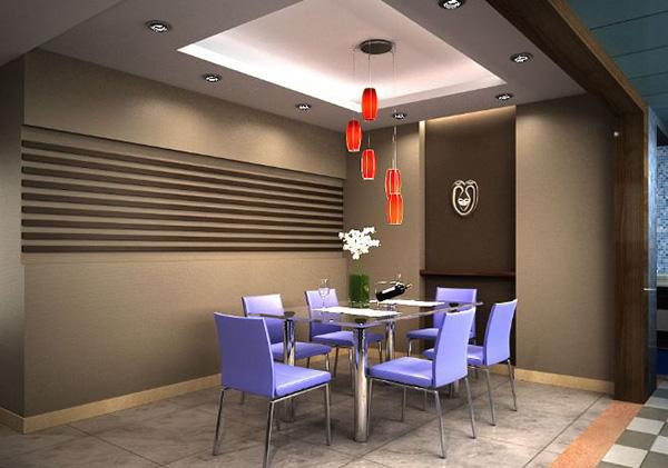 工作室餐厅装修案例四:公寓住宅式工作室餐厅装修