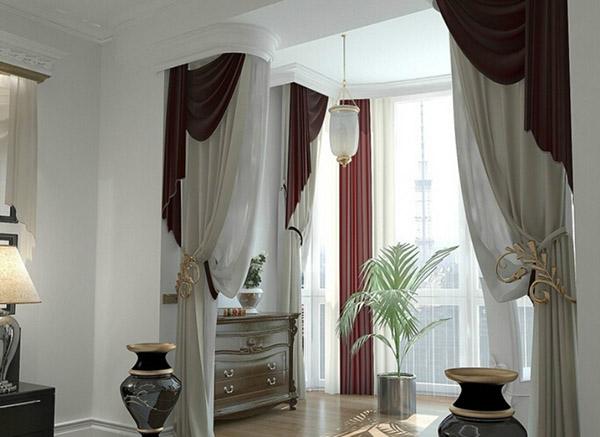 客厅阳台窗帘怎么样的布置才算合理?_保驾护航装修网