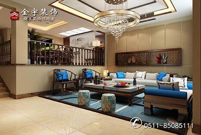 孟公馆别墅 中式风格