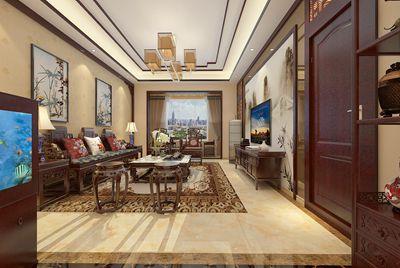 原香溪谷130平19万打造新中式风格