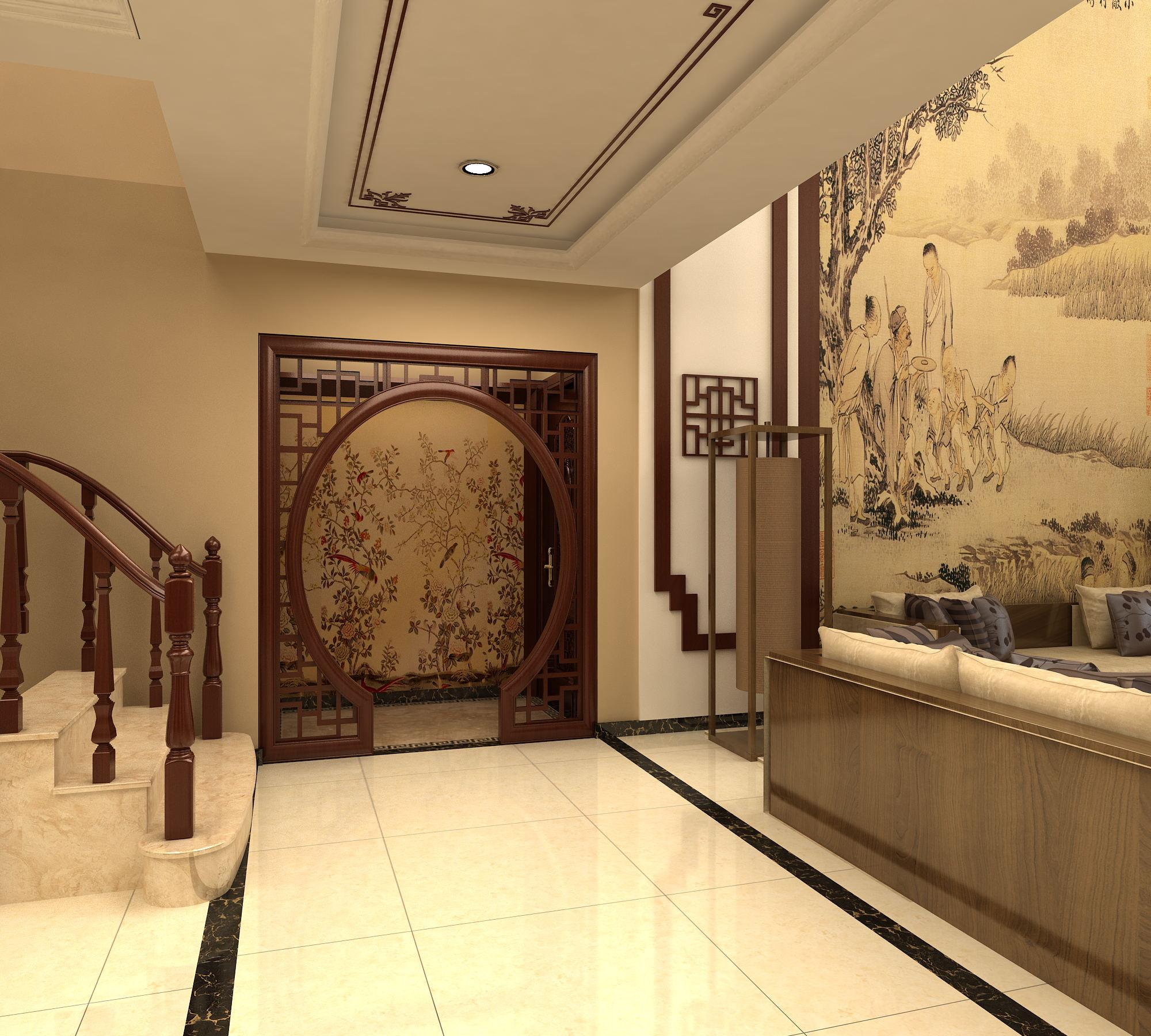 新中式大宅,稳重而出彩…