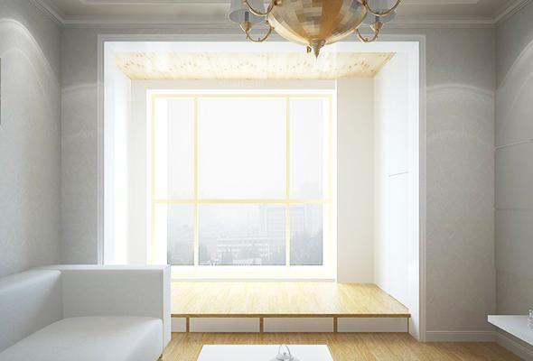 不同装修风格阳台榻榻米装修效果图