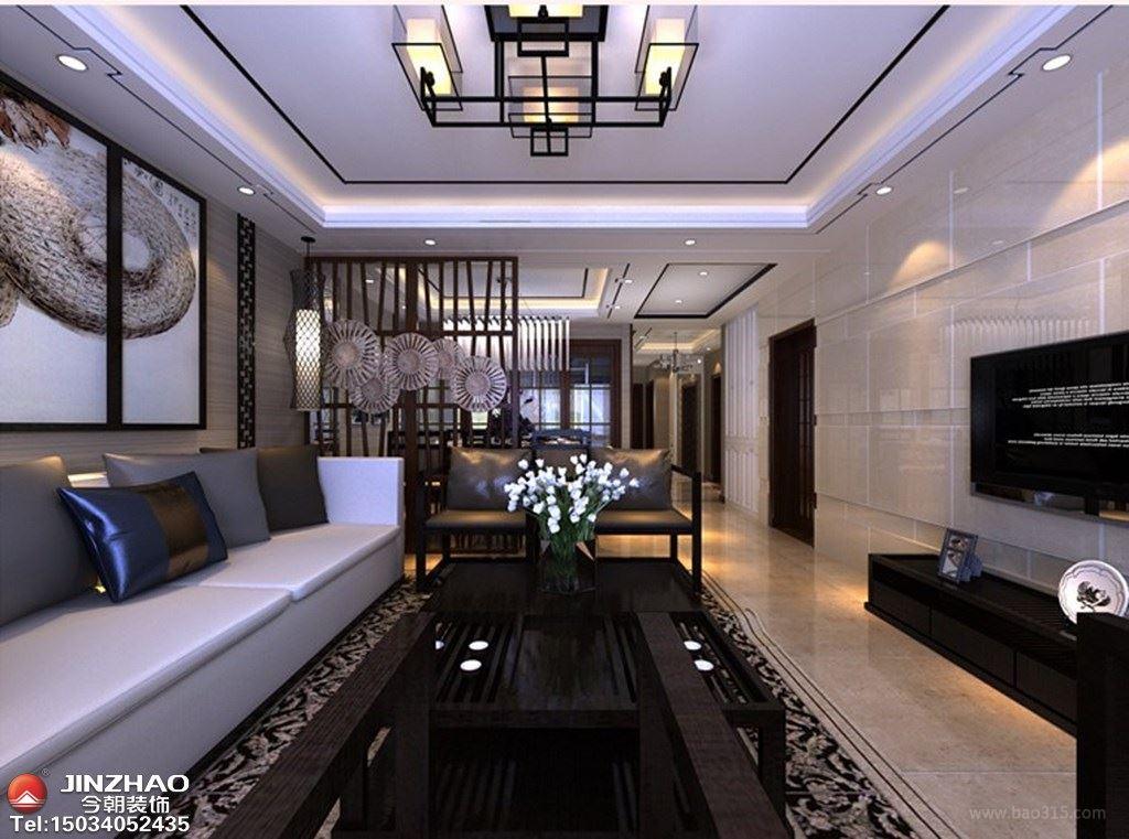 走进新中式的家--天鹅堡190平米