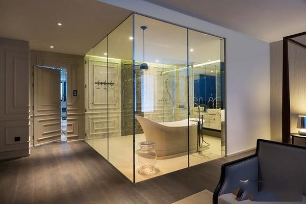 卫生间隔断墙有手工卫生间大全隔断墙图纸材质织品玻璃图片
