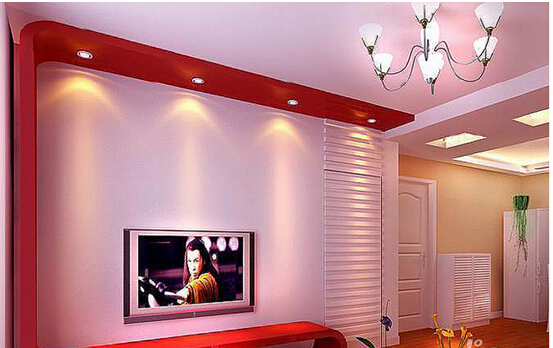 客厅装修 客厅电视背景墙暗门装修案例赏析    这虽然是一张效果图