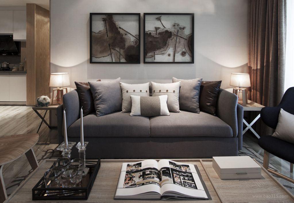 黑 白北欧风设计 打造经典时尚空间!图片
