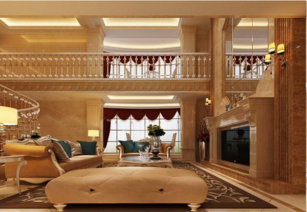 装修攻略  空间装修 客厅装修 楼中楼客厅装修效果图欣赏  楼中楼设计