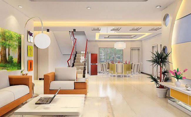 当然楼中楼装修设计可以是欧式风格的豪华大气,也可以是地中海风格的