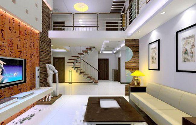 当然楼中楼装修设计可以是欧式风格的豪华大气