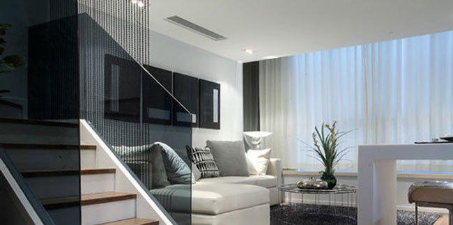 现代简约风格楼中楼装修效果图赏析图片