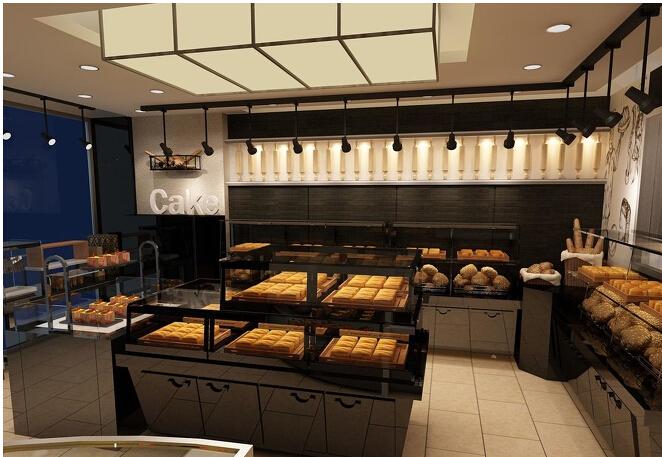 面包店装修设计时施工应注意的事项图片