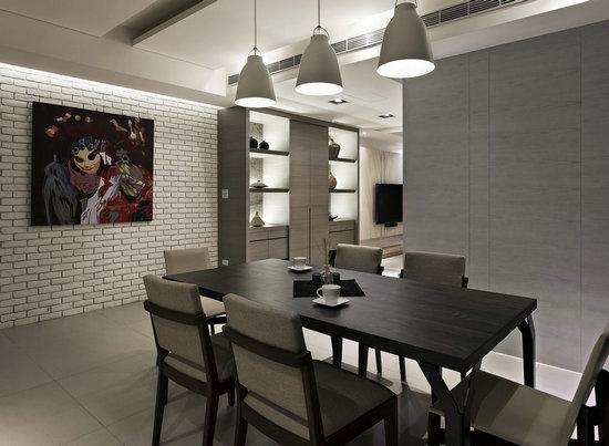 300平现代简约风格楼中楼装修案例赏析图片
