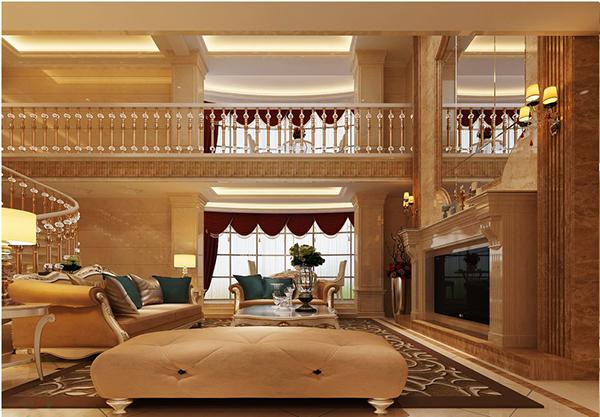 楼中楼客厅吊顶装修效果图欣赏