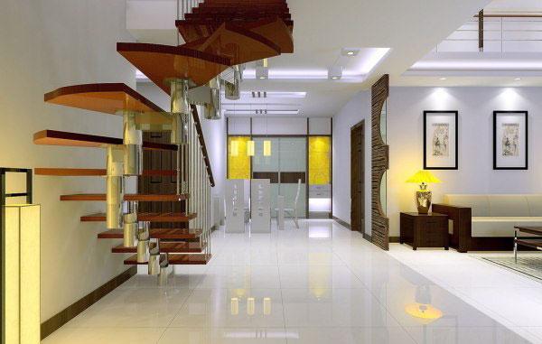 六款别致的楼中楼楼梯设计效果图欣赏_保驾护航装修网