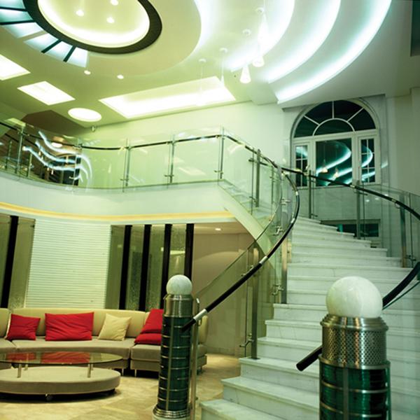 六款别致的楼中楼楼梯设计效果图欣赏