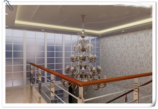 合肥装修案例:69平米现代简约风格楼中楼装修效果图图片