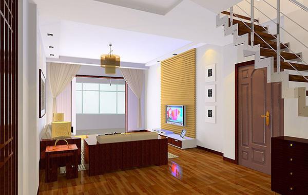 楼中楼客厅装修设计效果图赏析