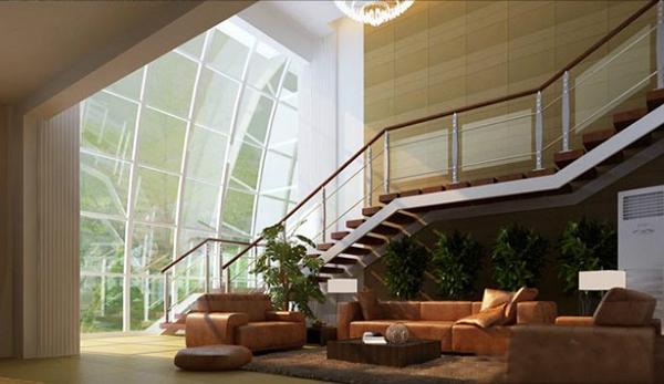 楼中楼装修设计之别墅楼梯设计篇