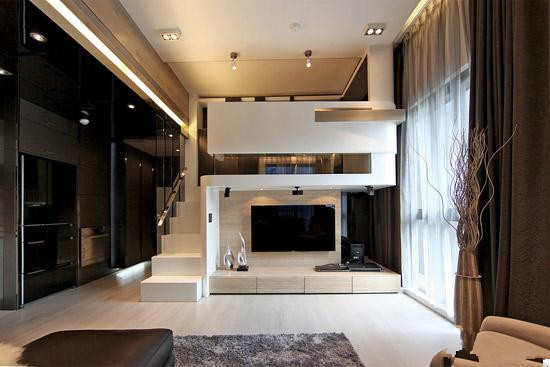 业 主:李先生    面 积:65平米    装修户型:小户型loft    装修
