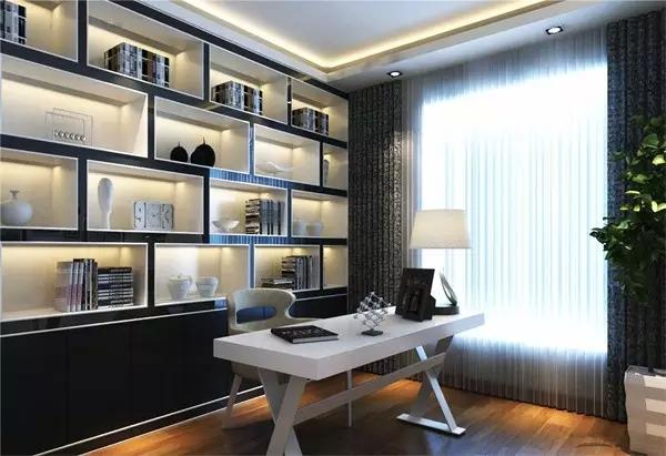后现代装修风格的黑白灰设计,尽显低调中的奢华