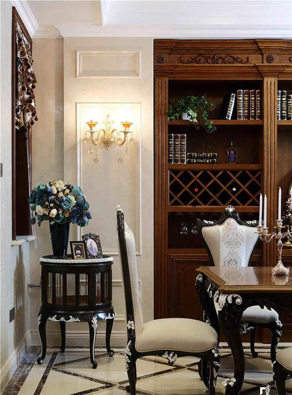 古典欧式风格家居装饰案例欣赏