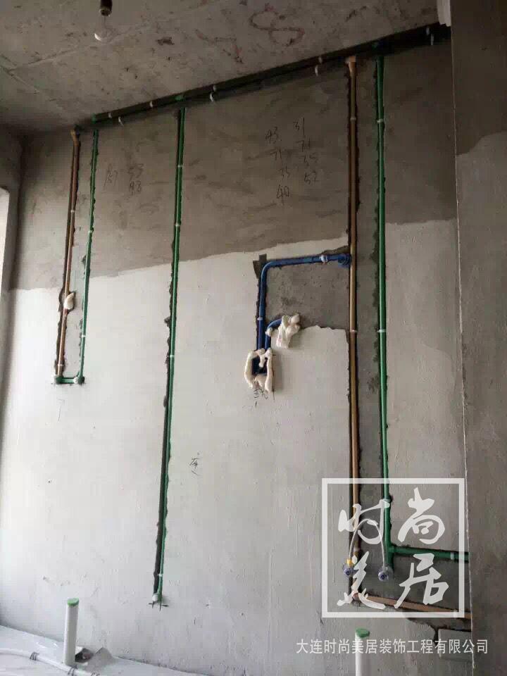 宏都峰景徐先生家水电施工完成