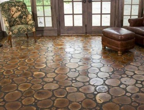 室内装修如何做彩色水泥地面?