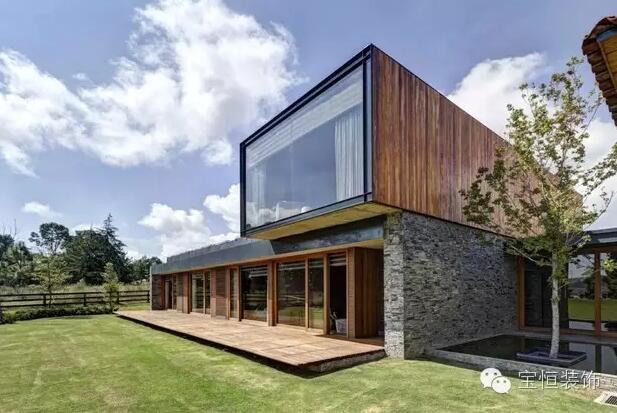 用石头做的房子