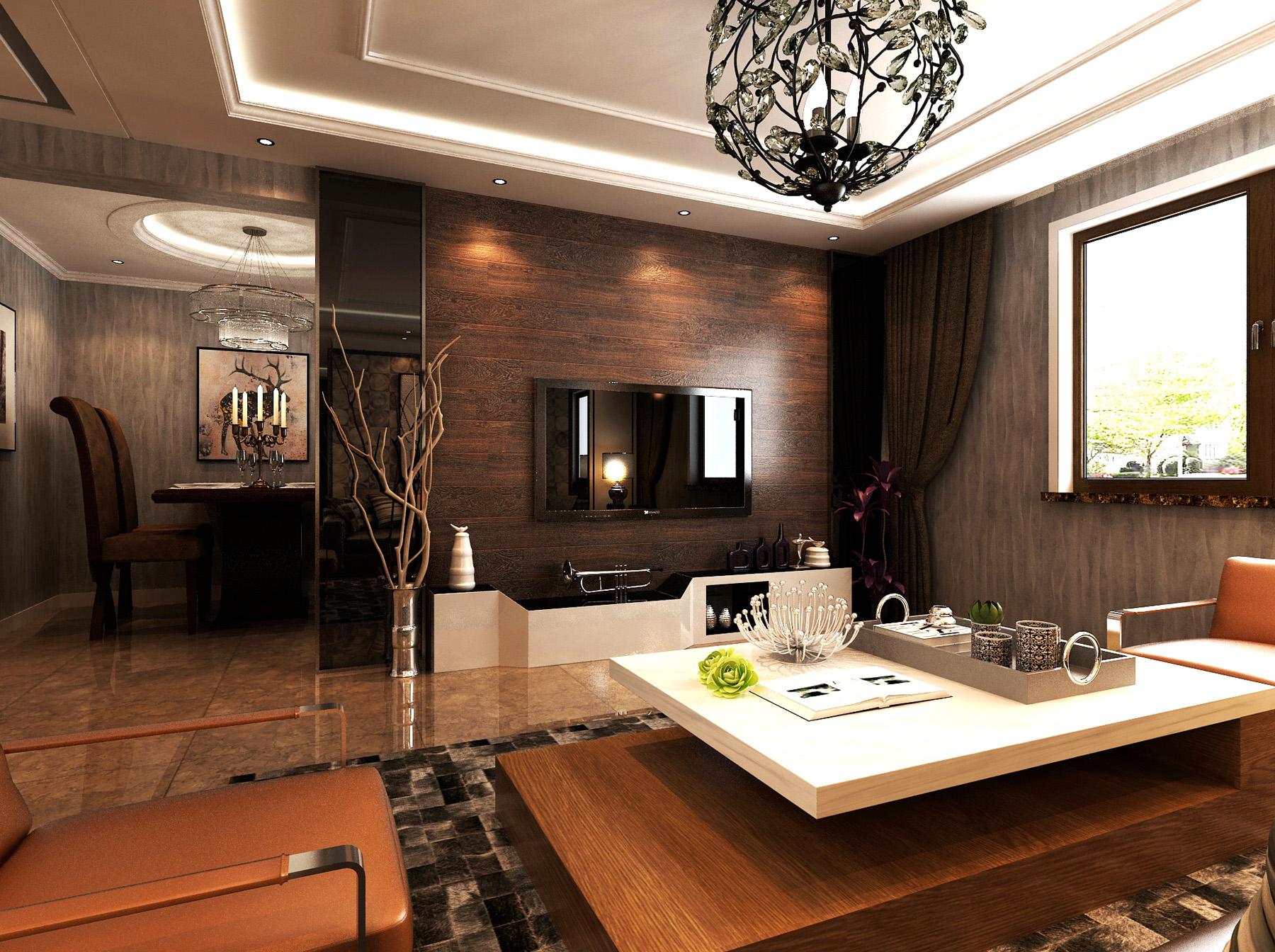 坤泽10里城-新中式风格-三居室